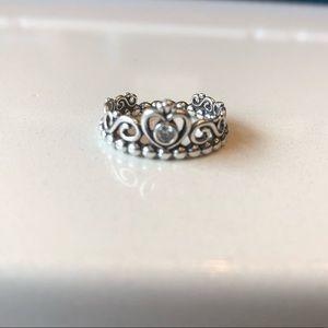 Pandora princess ring size 6